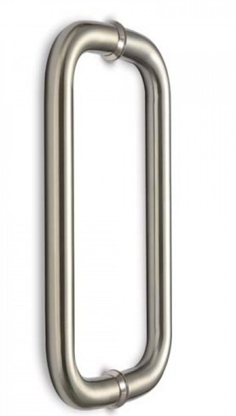 Ανοξείδωτη Λαβή εξώπορτας 210mm 1335 inox