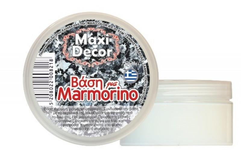 Βάση για Μαρμορίνο έγχρωμη νερού για decoupage 100gr