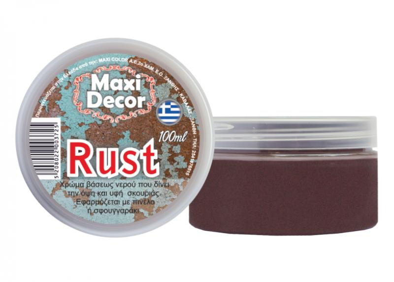 Rust Βάση Οξείδωσης με ανάγλυφη  επιφάνεια  100ml