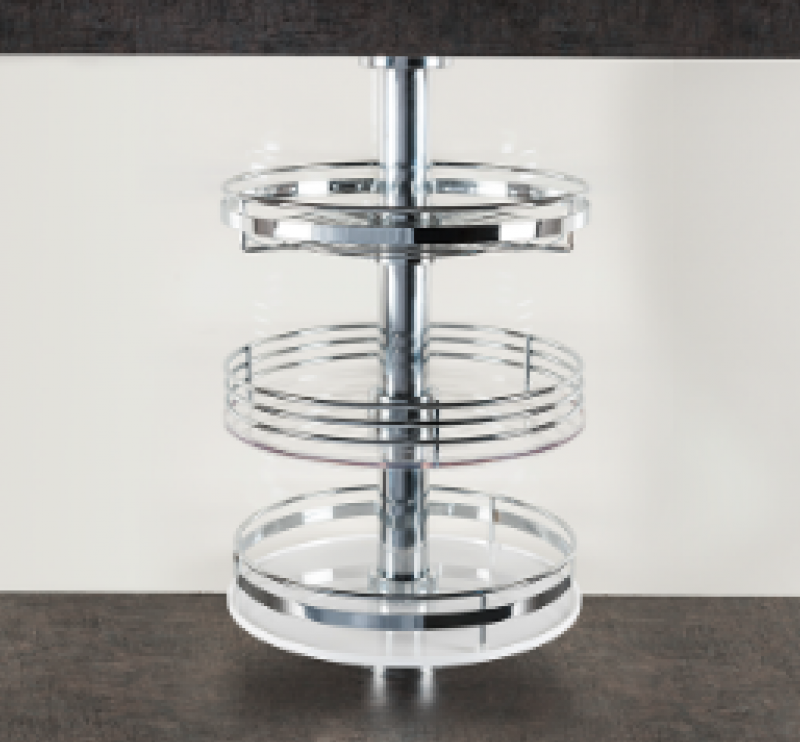 Κολώνα περιστρεφόμενη άνω πάγκου κουζίνας διαμέτρου 51 mm x μήκος 1300 mm