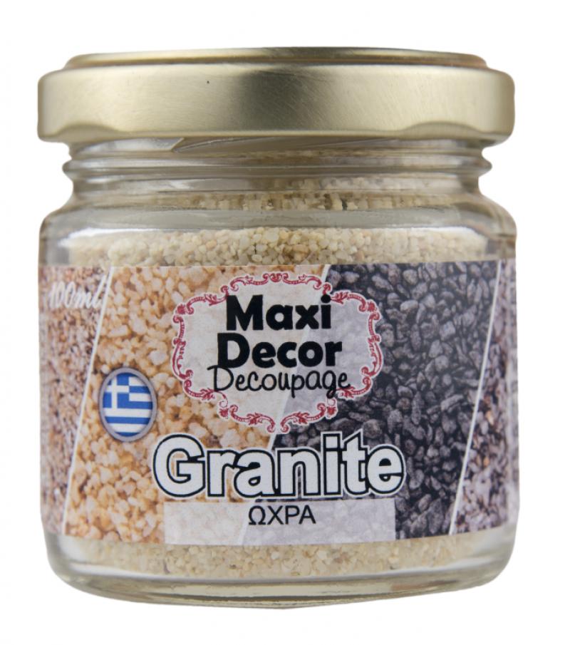 ειδικά εφέ ''Granites Ώχρα''