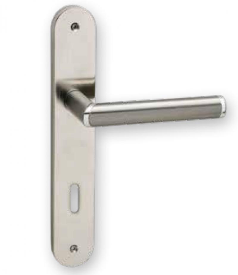 Χερούλι πόρτας πλάκα INOX 06.850 viometal