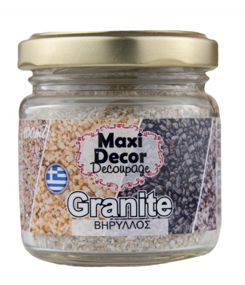 Granites σε κόκκους βηρυλλος για decoupage 100ml