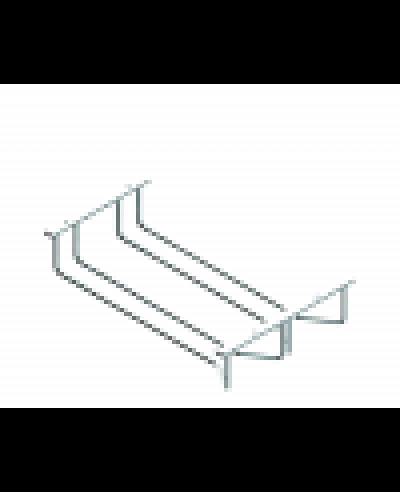 Κρεμαστή ποτηροθήκη 2  θέσεων ανοξείδωτη    S4016