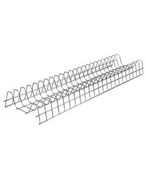 Πιατοθήκη ντουλαπιού νέου τύπου καθιστή-κρεμαστή σε 8 διαφορετικές διαστάσεις ανοξείδωτη