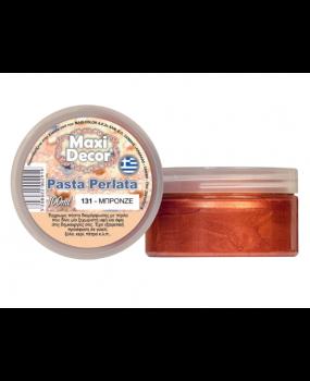 Pasta Perlata έγχρωμη για decoupage 100ml Μπρονζέ PP 131