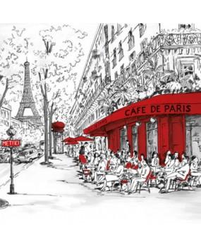 Χαρτοπετσέτες Decoupage 33 x 33 JOLI PARIS