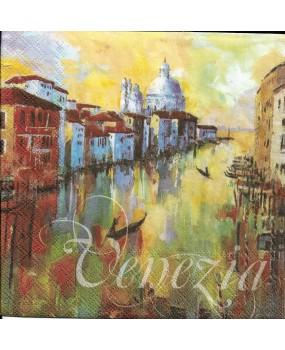 Χαρτοπετσέτες Decoupage  Venezia 33 x 33
