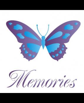 stensil 14χ14 Butterfly Memories 1374