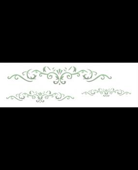 Arabesque 3 leaves