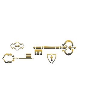 stensil 10χ30 Small Key 1465