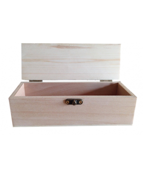 Κουτάκι ξύλινο με καπάκι καμπυλωτό