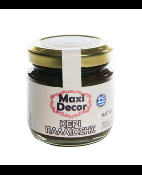 Κερί παλαίωσης καρυδί για decoupage 100ml