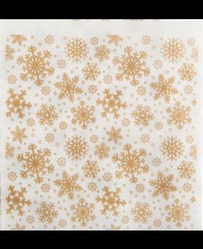 Χαρτοπετσέτες Χριστουγεννιάτικες Νιφάδες 38x40