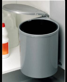 Κάδος Απορριμμάτων  με μηχανισμό πλαστικός 13lit   32250009