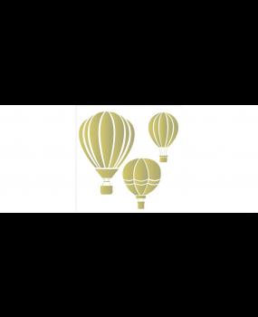 stensil  50,5χ50,5 Αερόστατο 2087