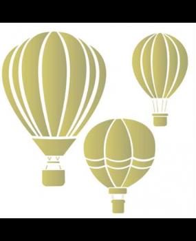 stensil  50,5χ50,5 Αερόστατο 1011