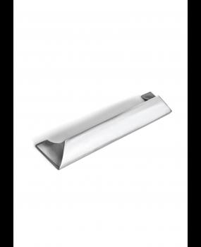 Πόμολο επίπλου 96 mm ή 192mm χρώμιο γυαλιστερό minimal style 2949