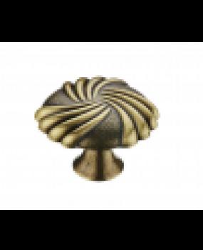 Πομολάκι επίπλων Vintage αντικέ brass  3108