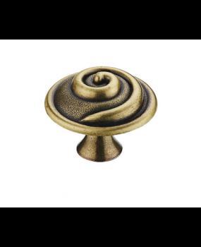vintage  πομολάκι επίπλων αντικέ brass
