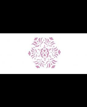 stensil 10χ10 Mantala flor 458
