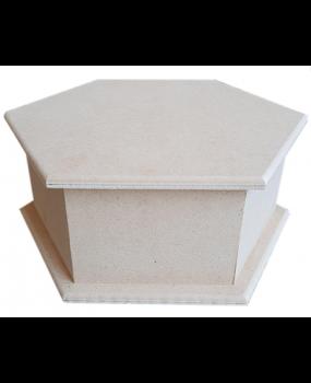 Εξάγωνο MDF κουτί