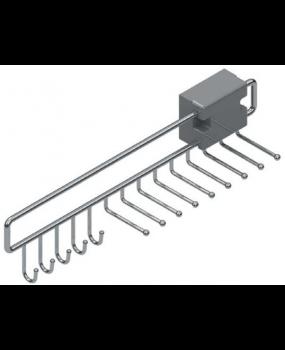 Κρεμάστρα για γράβατες & ζώνες συρταρωτή