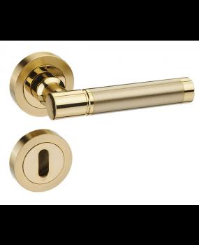 Χερούλι πόρτας ροζέτα oro-oro/ mat 63
