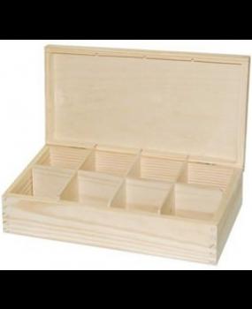 Κουτί 8θέσεων Τσαγιού