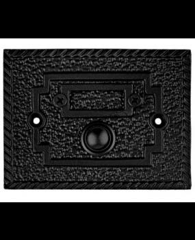 Κουδούνι εξώπορτας μαύρο Κ396