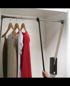 Ασανσέρ ντουλάπας  για το κατέβασμα ρούχων 85-115cm