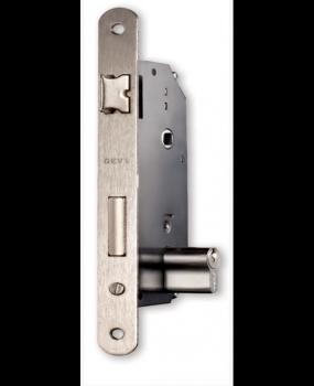 Κλειδαριά ασφαλείας τετράγωνη ή οβάλ,νίκελ ή χρυσή εξώπορτας