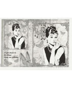 Ριζόχαρτο Α4 40gr Audrey Hepburn