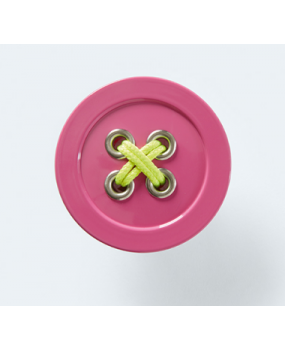Παιδικό πόμολο ροζ κουμπί Conset C849-P23