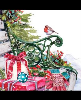 Χαρτοπετσέτες Decoupage 35 x 35 Christmas_presents.