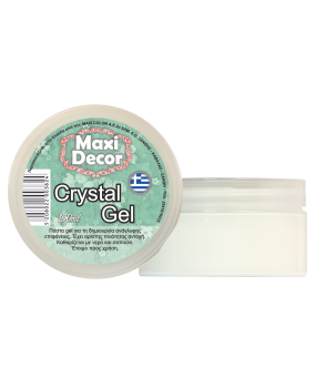 Crystal gel για decoupage 100ml