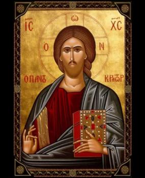 Χαρτί Α4 για decoupage ΙΗΣΟΥΣ ΧΡΙΣΤΟΣ Ο ΠΑΝΤΟΚΡΑΤΟΡΑΣ