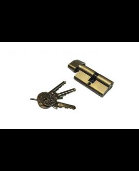 Μύλος/Κύλινδρος απλός  Nickel/χρυσός με διάσταση 60-75-90mm
