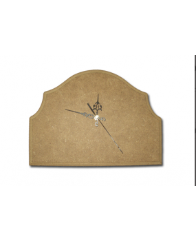 Ρολόι με καμπυλωτό σχέδιο
