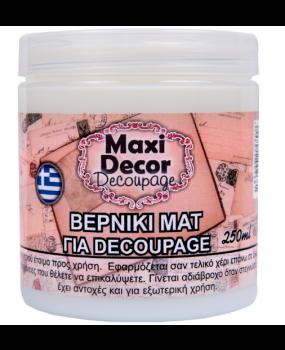Βερνίκι Ματ για decoupages σε 100 - 250 & 750gr