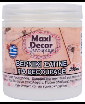 Βερνίκι σατινέ για decoupages σε 100 - 250 & 750gr