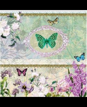 χαρτοπετσέτες όμορφες πεταλούδες