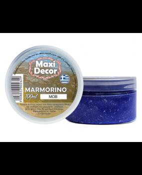 Μαρμορίνο Μώβ  δίνει την αίσθηση  του μαρμάρου 100ml