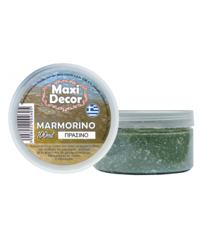 Μαρμορίνο πράσινο δίνει την αίσθηση  του μαρμάρου 100ml