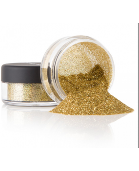 Xρυσό glitter σκόνη για decoupage 20gr