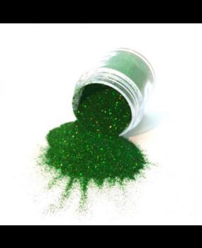 Πράσινο Glitter σε σκόνη για decoupage 20ml