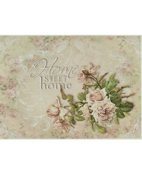 Ριζόχαρτο Α4 40gr Home Sweet Home Rose 3 R721