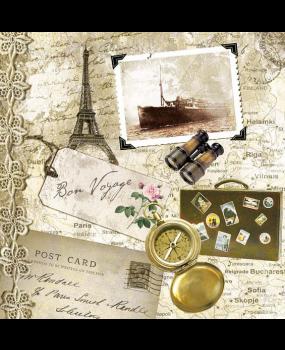 χαρτοπετσέτες Bon Voyage
