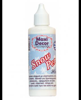 Snow Pen Πάστα χιονιού σε σωληνάριο με ψιλή μύτη 90ml