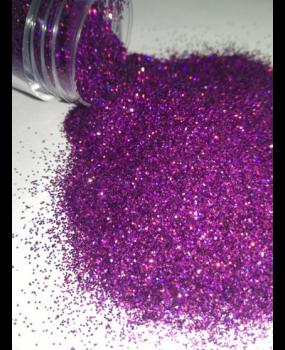 Μωβ Glitter σε σκόνη για decoupage 20ml